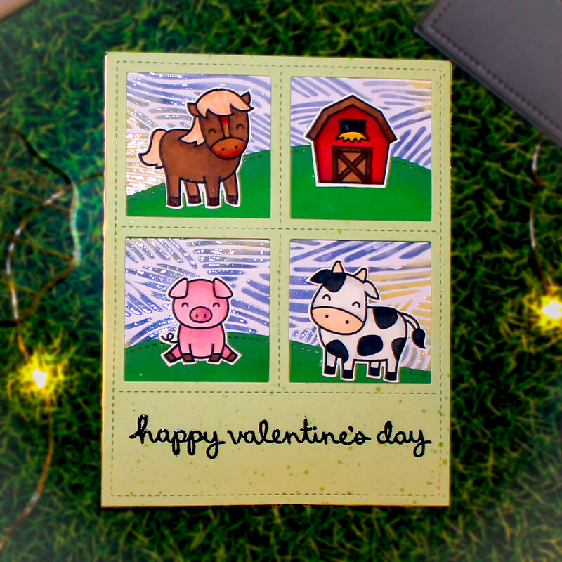 Happy V Day - Farm style