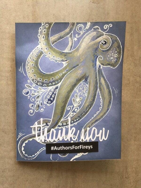 #AuthorsForFireys thank you card