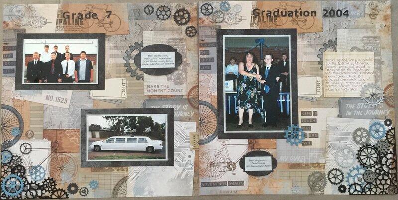Grade 7 graduation spread
