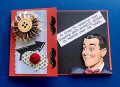 Vintage Gentleman Card