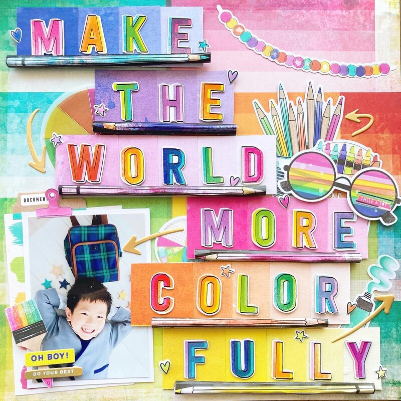 make the world more color fully