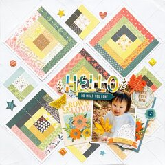 quilting layout