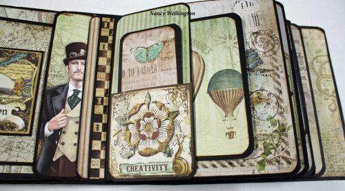 Stamperia + Caio Bella Mini Book
