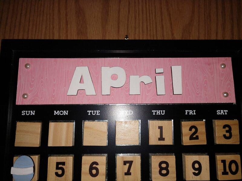 Foundations Decor Calendar