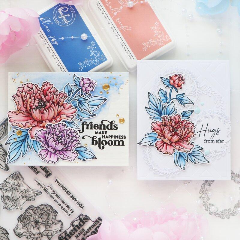 Friendship Blooms - Pinkfresh Studio