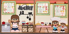 Jr. Chef Scrapbook Layout