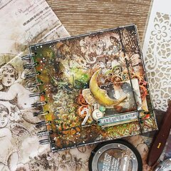 Altered art daily mixed media book