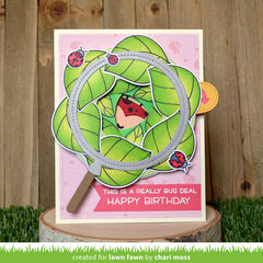 Bug Deal Birthday - Magic Iris interactive card