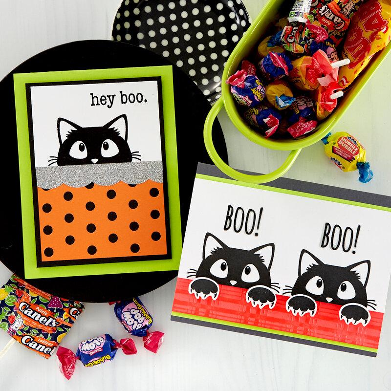 Hey Boo! Halloween Cards