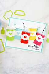 FSJ You Got This! Colorful Coffee Cup Card