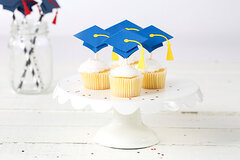 FSJ Graduation Cupcake Toppers with FSJ