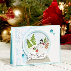 FSJ Snow Globe Christmas Card