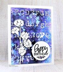 Typography Birthday