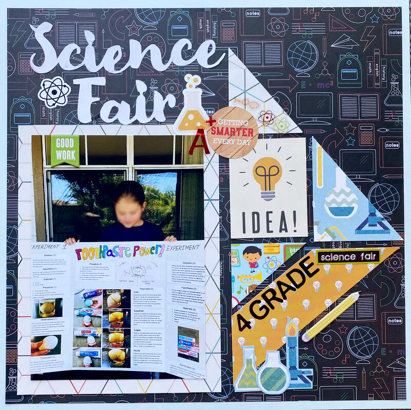 science fair / school