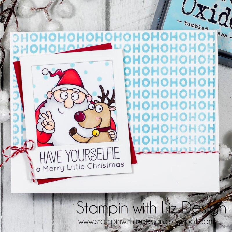 Christmas Selfies Card!
