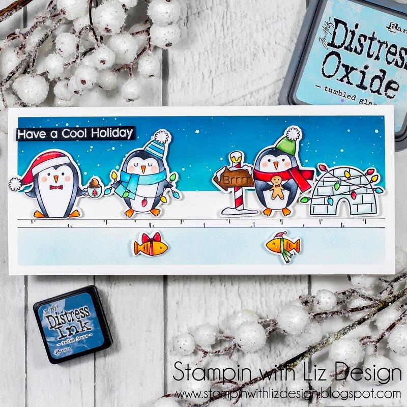 Polar Pinguins card!