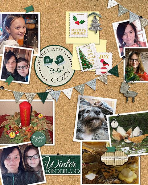 December Pinboard