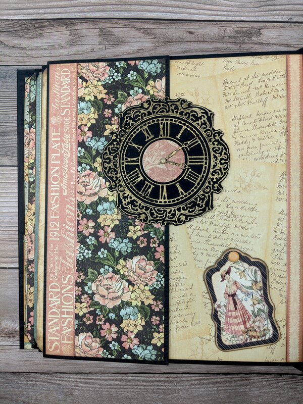 "Mini Album - Graphic 45 Ladies Diary (8.5"" x 10"")"