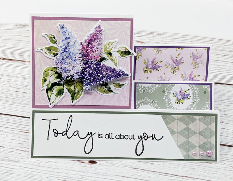 Floral Decoupage Cards Using Crafters Companion Box Kit #23