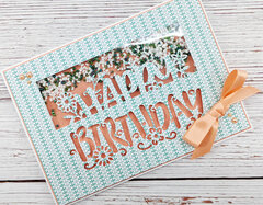 Birthday Card Using Crafter's Companion Box Kit #27
