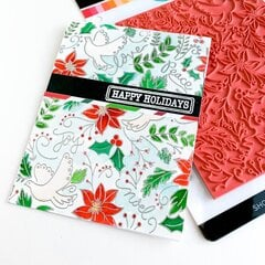 Catherine Pooler Designs Happy Holidays Background