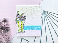 Catherine Pooler Designs_Wellies and Sunburst