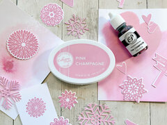 Catherine Pooler Designs Pink Champagne Ink