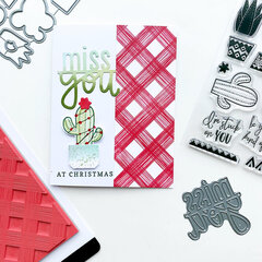 Wanna Hug Miss You at Christmas by Catherine Pooler Designs