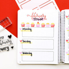 Catherine Pooler Designs February Canvo Spread