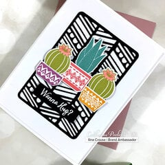 Wanna Hug Dies & Canyon Mini Cover plate by Catherine Pooler Designs