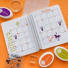 Catherine Pooler Designs Canvo October Spread