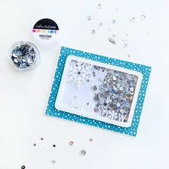 Catherine Pooler Designs Let It Snow Card