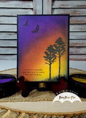 Father Sunset Card