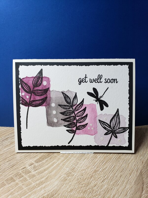 Get Well Color Block & Foliage