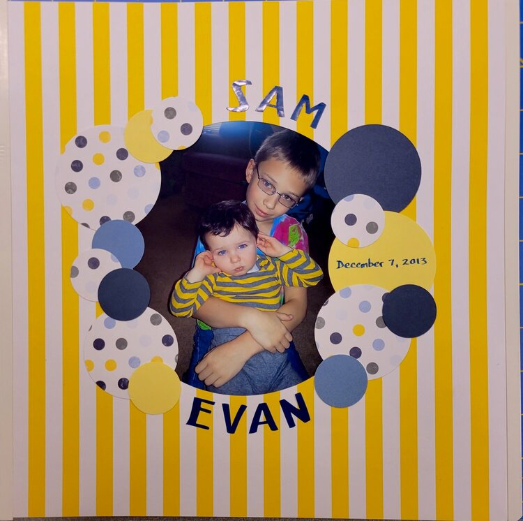 Sam and Evan