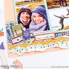"""""""Happy Travels"""" Layout"""