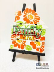 family first altered house pallet * Clear Scraps DT