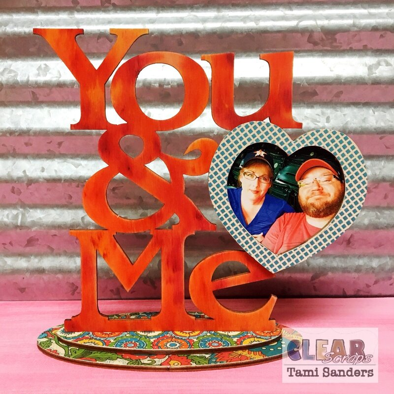 you and me desk frame * Clear Scraps DT