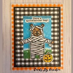 Quick & Easy Halloween Card with Simon Hurley create products