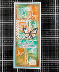 Mixed media Mother's day card-3