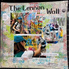 Lennon Wall- Prague
