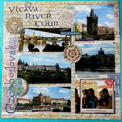 Vltava River Tour-Prague