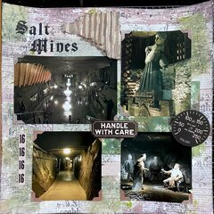 Salt Mines-Krakow Poland