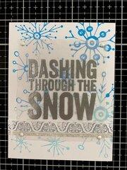 Dashing through the Snow 1