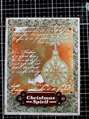 Christmas Spirit card