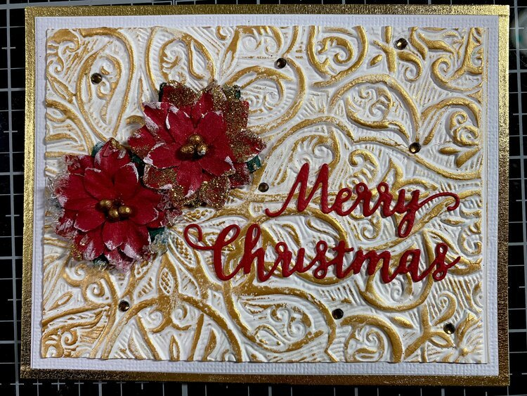 Mixed Media Christmas Card-30