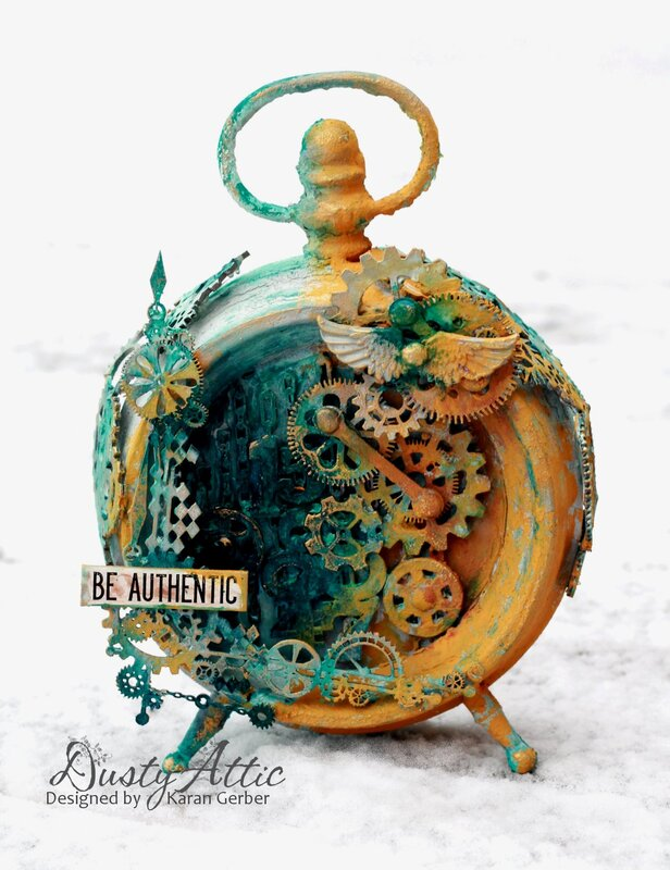Be Authentic - Altered Clock