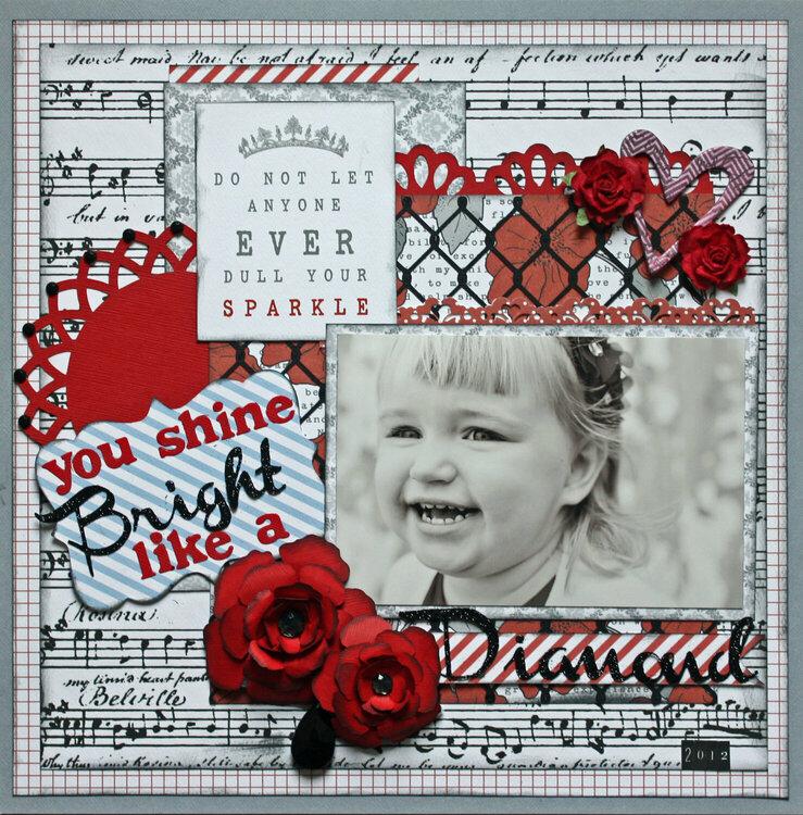 You Shine Bright Like A Diamond