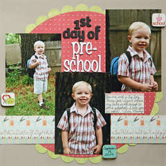 1st Day of Preschool