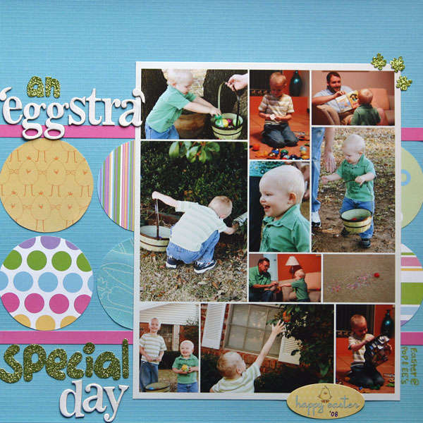 An 'eggstra' special day